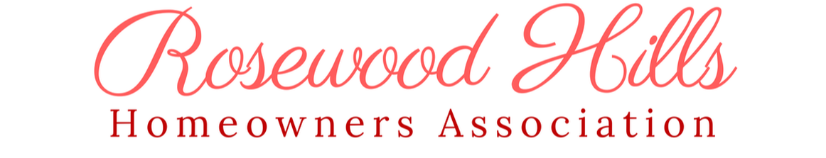 Rosewood Hills Homeowners Association